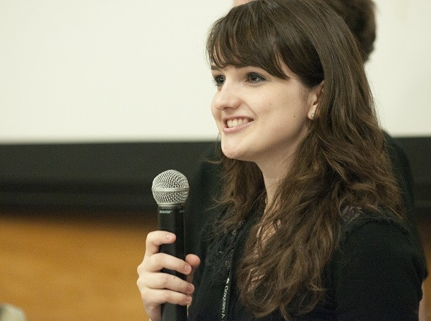 Anna_Chlopecki_speaking_at_student_panel_at_Wikipedia_in_Higher_Education_Summit-610x454