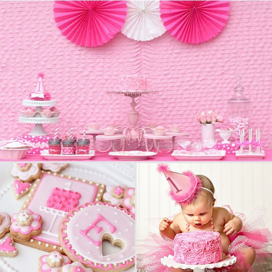 Super-Girlie-First-Birthday-Party